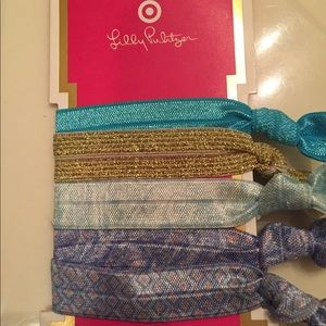 NWT Lilly Pulitzer for Target hair ties